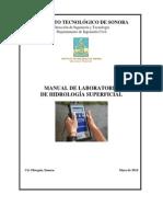 Manual Lab de Hidrología Superficial 2009