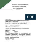 95171609 NEBOSH Sample Practicle Report