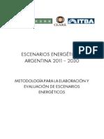 Metodologia Escenarios Energeticos Argentina 2030
