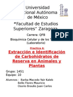 Identificacion de Varebohidratos
