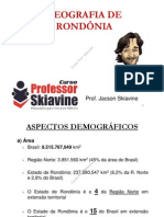 Geografia de Rondônia - Skiavine