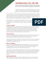 Junta de Gobernadores Del Fmi