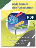 2015 FSCA Convention Program