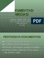 1. Dokumentasi Mediasi