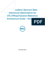 Dell Cloudera Apache Hadoop Soution Reference Architecture