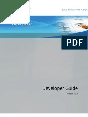 Idea Blade Dev Force Developers Guide 5 1 0   Entity Framework
