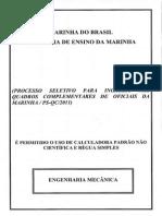 Ps Qc Engenharia Mecânica 2011 Amarela