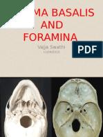 Skull Base Foramina