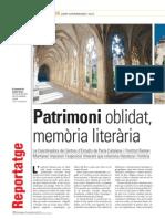Patrimoni Oblidat, memòria literària