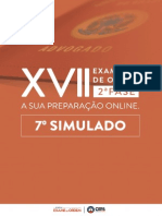 Simulado da OAB