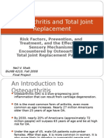Osteoarthritis and Total Joint Replacement.ppt