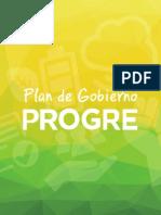Plan de Gobierno PROGRE '15-'16