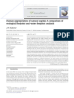 Artigo Ecological Footprint and Water Footprint