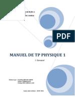 Polycopie Du Tp Physique