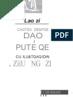 Laozi Cartea despre dao si putere Humanitas 1993