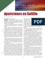 Apariciones en Saltillo