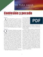 Confesion y Pecado