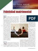 Fidelidad Matrimonial