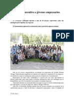 27.05.2014 Comunicado Esteban Incentiva a Jóvenes Empresarios