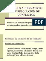 MEC ALTERNATIVOS DE RES DE CONFLICTOS