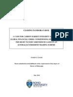 A CASE FOR CARBON MARKET INTEGRITY AFTER THE CRISIS TEZA DOCTORAT.pdf
