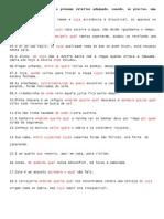 Pronomes Relativos - Gabarito Último Exerc.