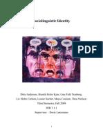 Andersen et al 09 Sociolinguistic Identity
