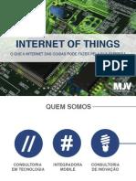 Slides O Que a Internet Das Coisas Pode Fazer Pela Sua Empresa