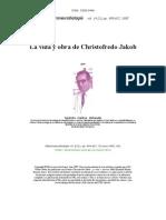 La vida y obra de Christofredo Jakob