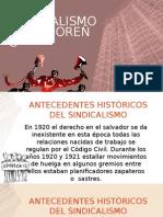 Sindicalismo Salvadoreño