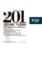 201 Arabic Verbs - Fully Conjugated in all the forms