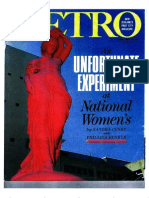 An Unfortunate Experiment at National Women's, by Sandra Coney and Phillida Bunkle, Metro (New Zealand), June 1987