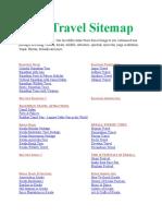 India Travel Sitemap through visittnt.com
