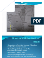 Zionism and the Birth of Israel