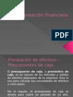 Planeación Financiera.
