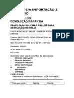 250-15 Autorização Devolução Bruce Auto Pecas Ltda-me 29-09-15
