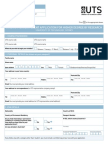 International Higher Degree Research Application Form 0