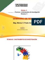 Ayuda 5.- Tècnica e Instrumentos de Investigaciòn
