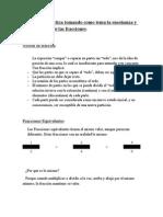 Propuesta didáctica fracciones