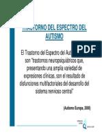 Trastorno Del Espectro Del Autismo