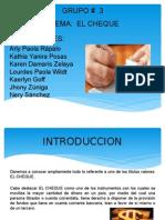 Presentacion Cheque