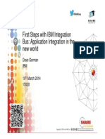 15020 First Steps With IBM Integration Bus Application Integration in the New World