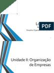 Unidade II - Organização de Empresas
