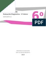 Matemática 6Básico Matriz de Evaluación