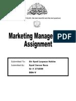 Demand Marketing - Imran