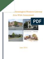 Downtown Bennington Western Gateway Area Wide Assessment