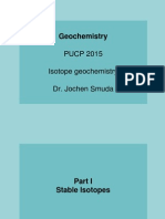 Lecture4b Isotope Geochemistry