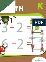 Bug Out Math Workbook