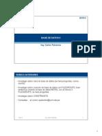 2015-2 Base de Datos II - Semana02 - TE2