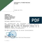 Iniciativa de Ley Anual de Presupuesto General de La República 2016